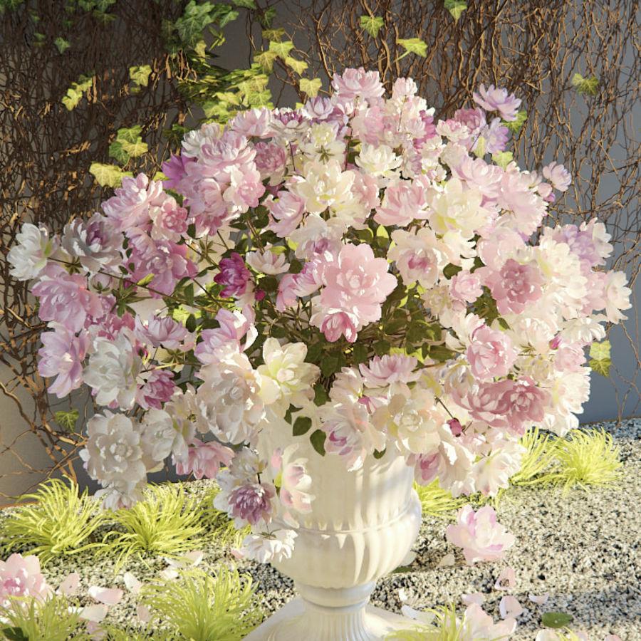Flores exteriores royalty-free 3d model - Preview no. 4
