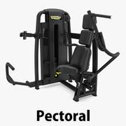 Technogym - SP Pectoral 3d model