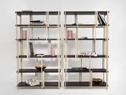 Mondrian Bookshelf 3d model