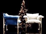 威尔弗雷德扶手椅 3d model