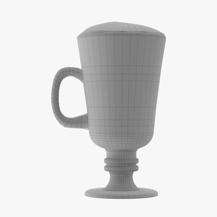 Cappuccino royalty-free 3d model - Preview no. 11