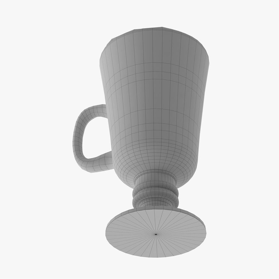 Cappuccino royalty-free 3d model - Preview no. 12