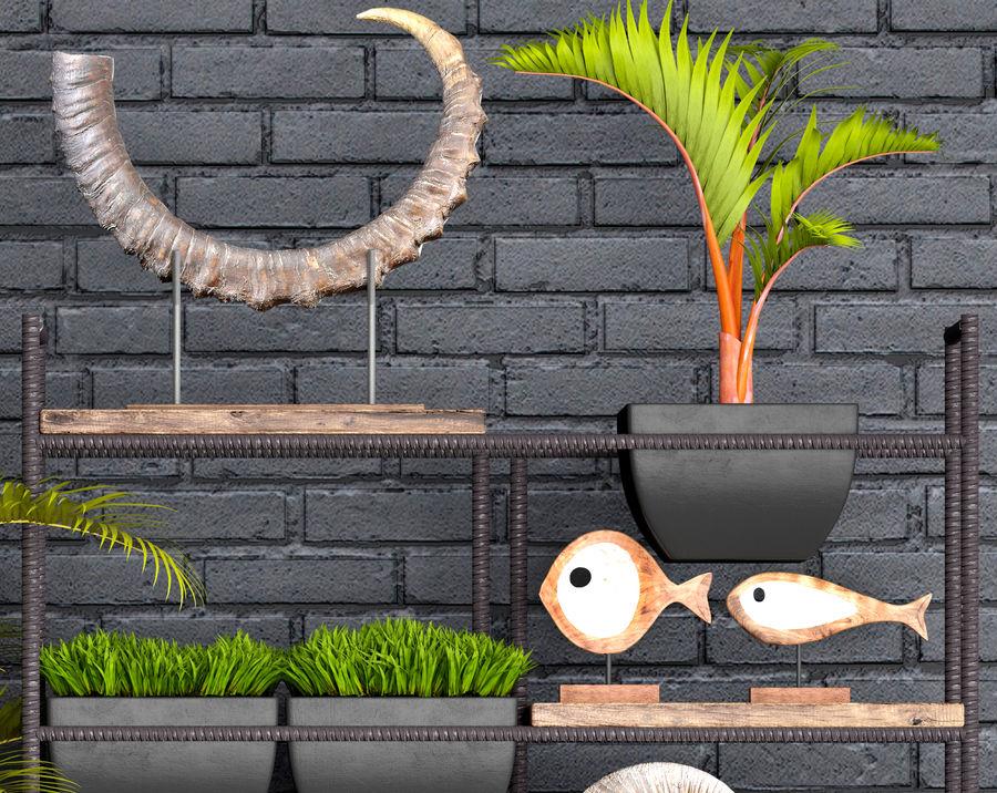 Decorative set royalty-free 3d model - Preview no. 7