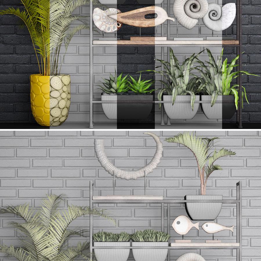 Decorative set royalty-free 3d model - Preview no. 10