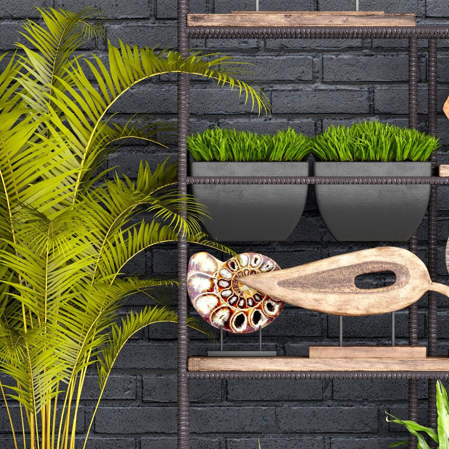 Decorative set royalty-free 3d model - Preview no. 6