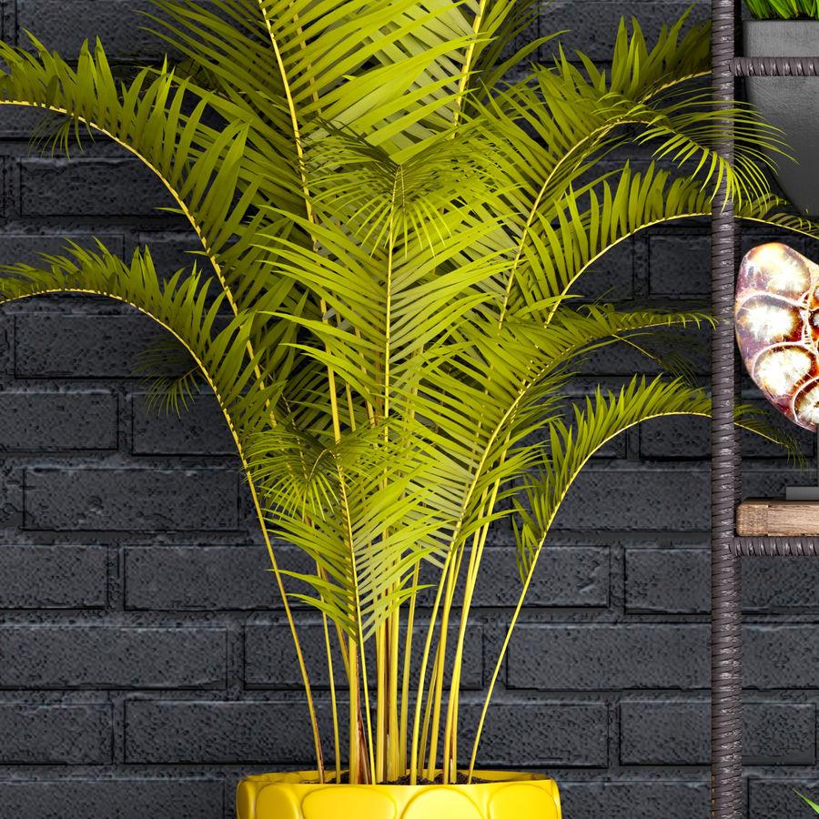 Decorative set royalty-free 3d model - Preview no. 2