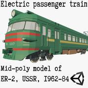 ER-2電気郊外電車 3d model