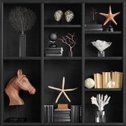 Set de decoración LuxDeco modelo 3d
