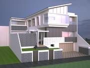 дом 4 3d model