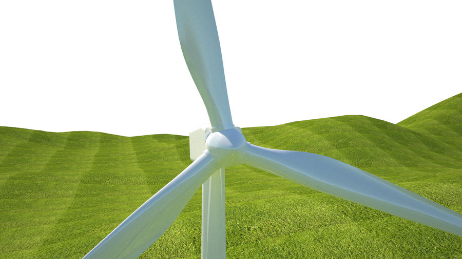 Wind Turbine royalty-free 3d model - Preview no. 14