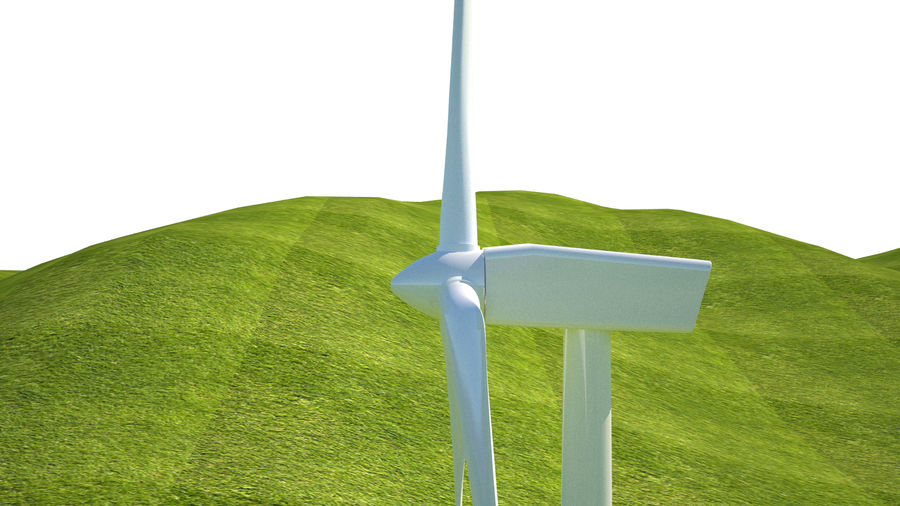 Wind Turbine royalty-free 3d model - Preview no. 9