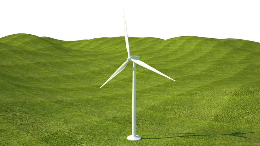 Wind Turbine royalty-free 3d model - Preview no. 6