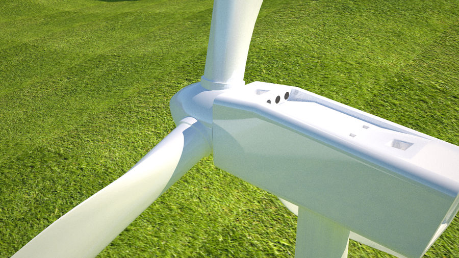 Wind Turbine royalty-free 3d model - Preview no. 13