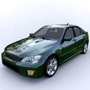 carro Lexus é 300 3d model