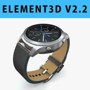 E3D - Samsung Gear S3 Classic 3d model