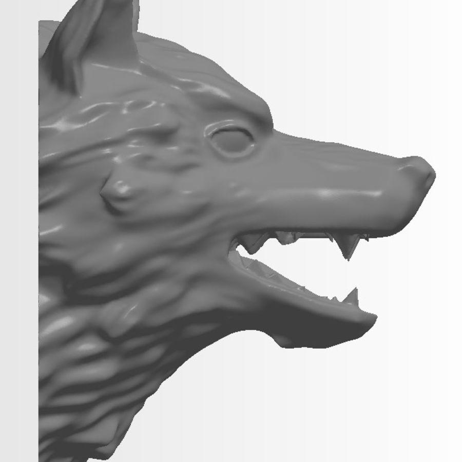 Kurt kafası royalty-free 3d model - Preview no. 3