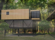 Büyük Orman Evi 3d model