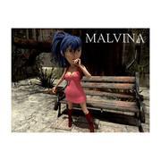 Malvina for Unirt 3d model