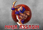 Asesino Ninja modelo 3d
