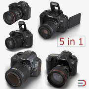 Canon Camera 3D Models Collection 2 3d model
