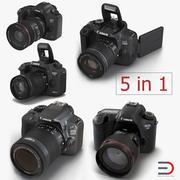 Kolekcja modeli 3D aparatów Canon 2 3d model