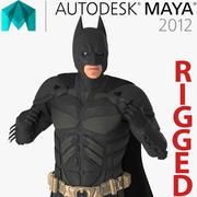 Batman Rigged for Maya 3d model