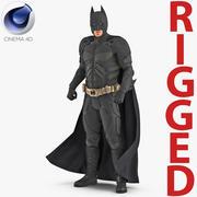 Batman Rigged dla Cinema 4D 3d model