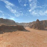 Terrain Canyon Arizona 37 3d model