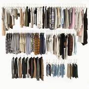 Verzameling van kleding 3d model