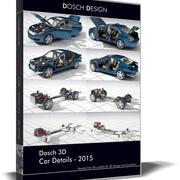Dosch 3D - Détails de la voiture 2015 3d model