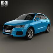 Audi Q3 2015 года 3d model