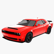 Dodge Challenger Demon 3d model