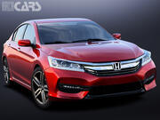 Honda Accord Sedan 2017 3d model