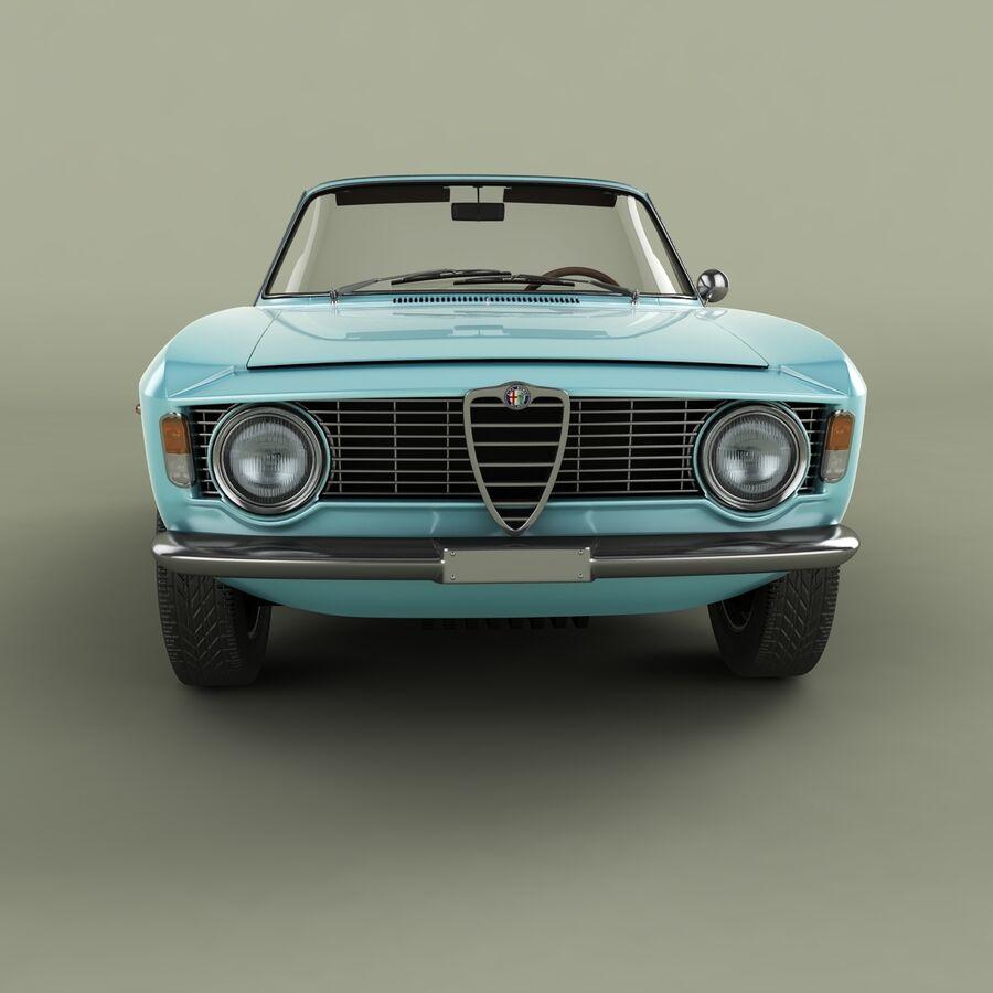 Alfa Romeo Giulia Sprint Gtc 3d Model 109 Fbx Obj 3ds Max Free3d