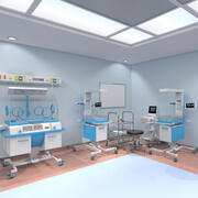 Sala Neonatologiczna 3d model