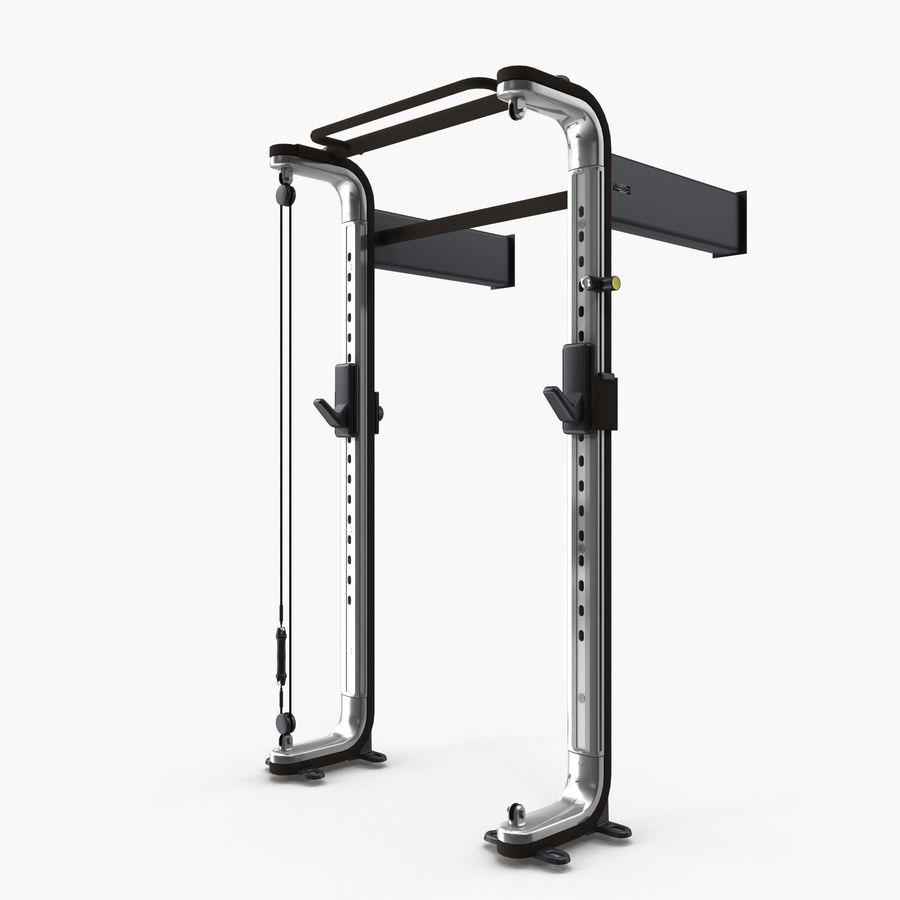 Fitness Omnia Technogym Straight Pull Up Bar 3d Model 4