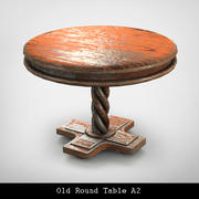 Ancienne Table Ronde A2 3d model