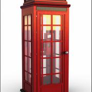 Telefonkiosk 3d model