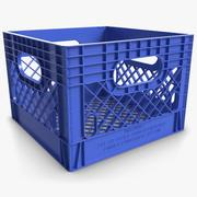 Plastic Crate 3 3d model