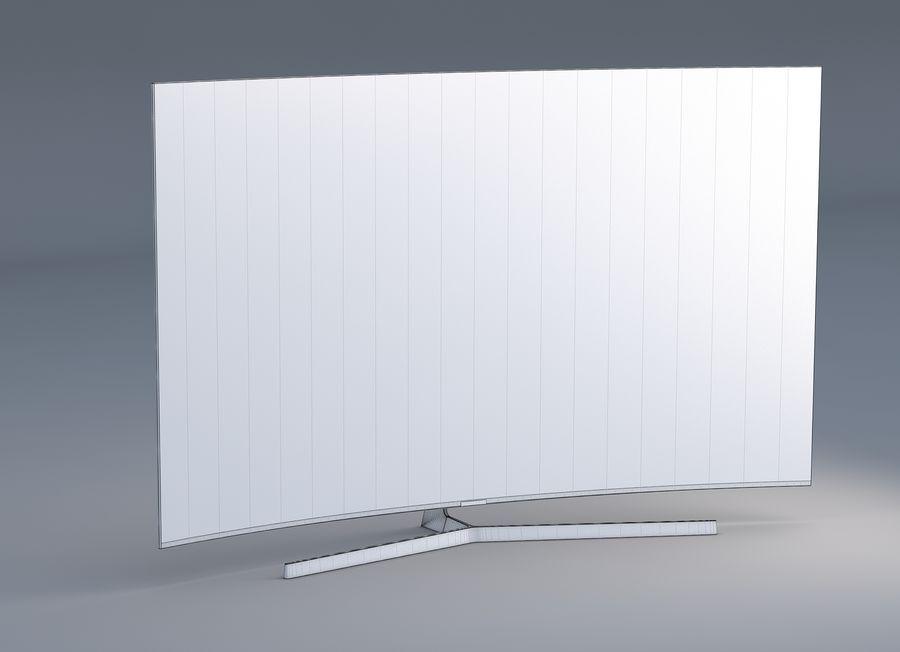 Samsung 4K Smart TV 9000 55 ve 75 inç royalty-free 3d model - Preview no. 7