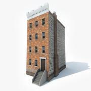 아파트 3d model