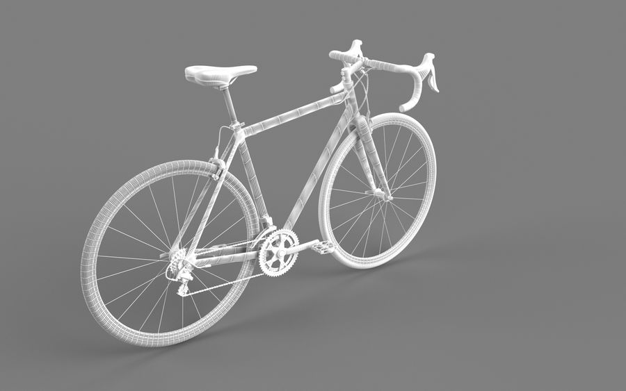 Rennrad Ardis royalty-free 3d model - Preview no. 17