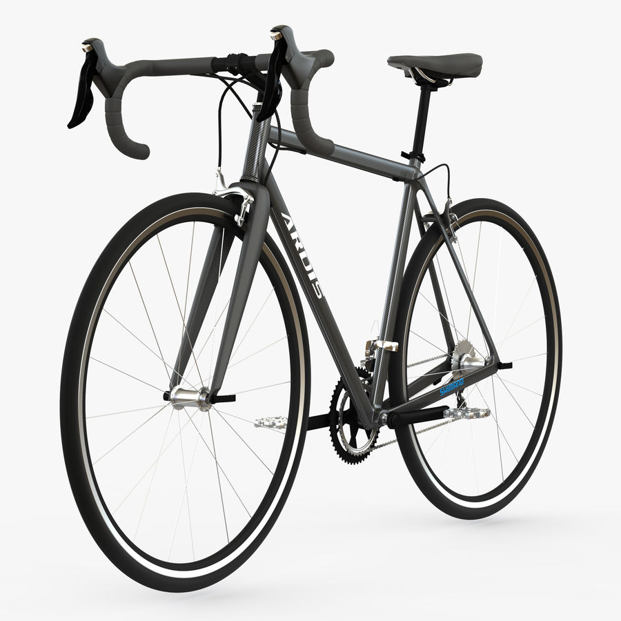 Rennrad Ardis royalty-free 3d model - Preview no. 1
