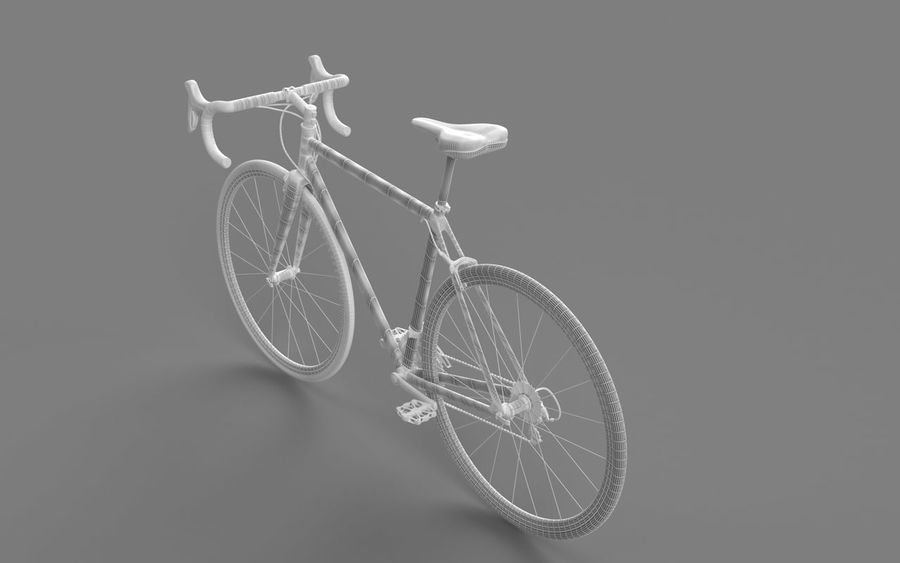 Rennrad Ardis royalty-free 3d model - Preview no. 18