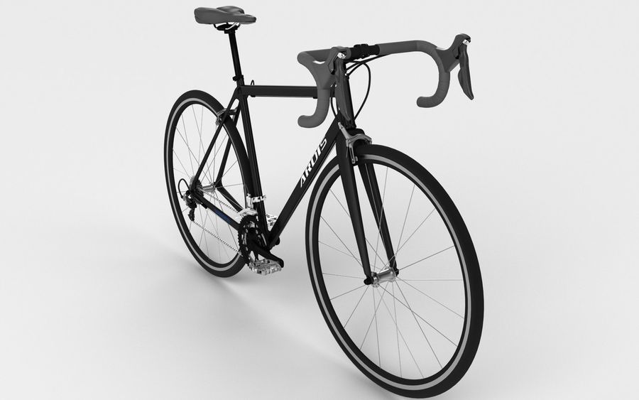 Rennrad Ardis royalty-free 3d model - Preview no. 2