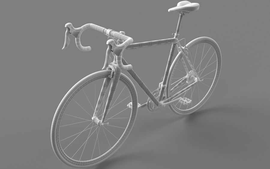 Rennrad Ardis royalty-free 3d model - Preview no. 19