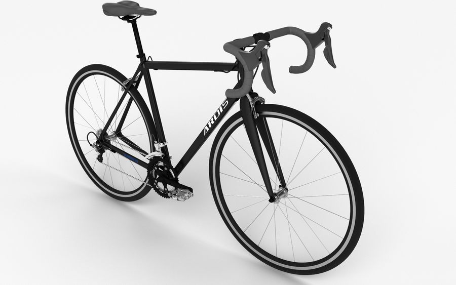 Rennrad Ardis royalty-free 3d model - Preview no. 3