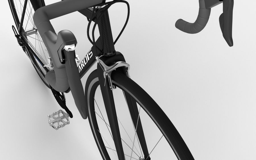 Rennrad Ardis royalty-free 3d model - Preview no. 14