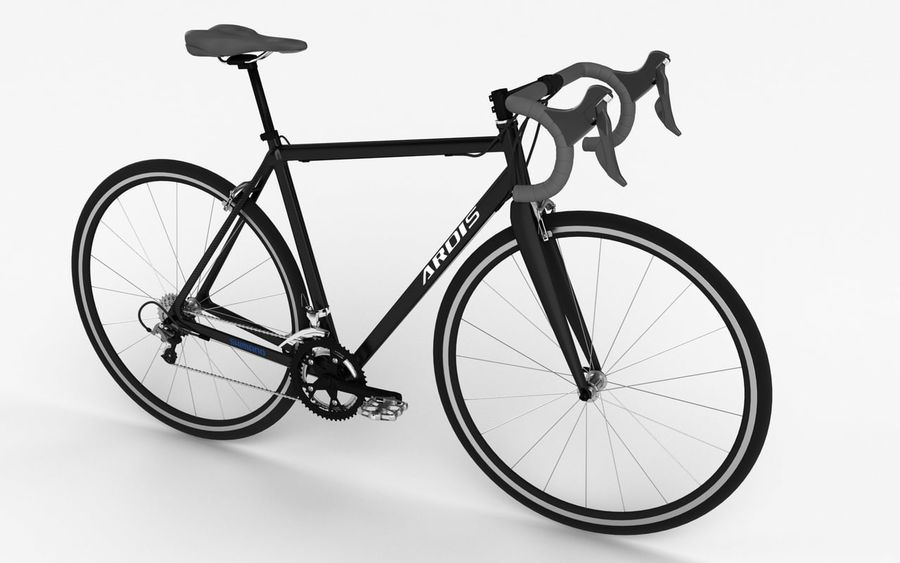 Rennrad Ardis royalty-free 3d model - Preview no. 4