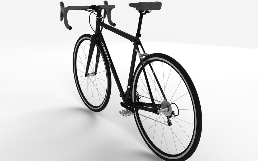 Rennrad Ardis royalty-free 3d model - Preview no. 8
